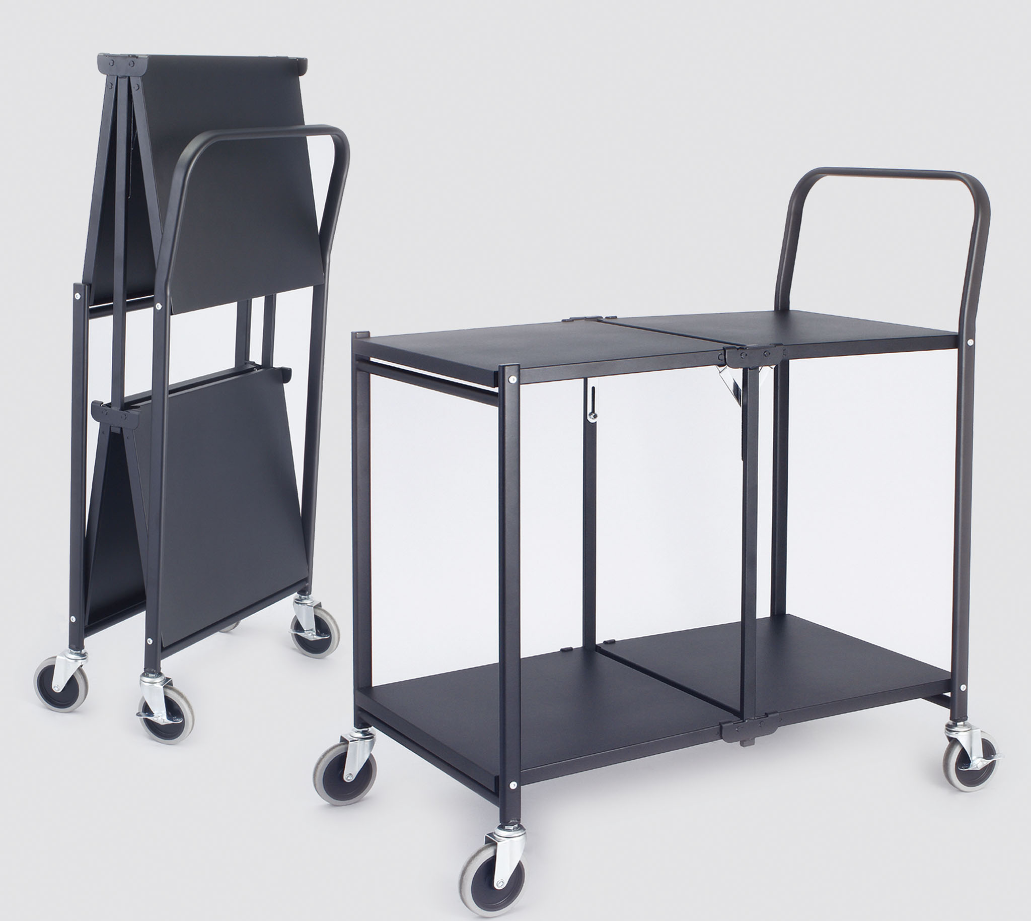 New Folding Shelf Trolley