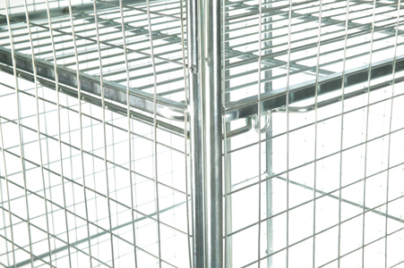 Nesting A Frame Roll Container-shelf