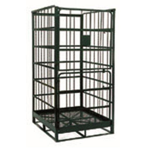 4 Sided Rod Infill Parcel Cage