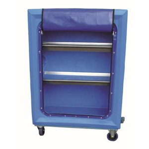 Plastic Laundry Cage With Shelves