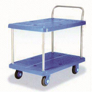Small Double Platform Trolley