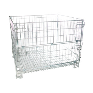 wire frame stackable container